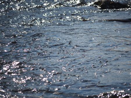river in winter Banco de Imagens