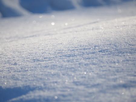 white snow in winter Banco de Imagens