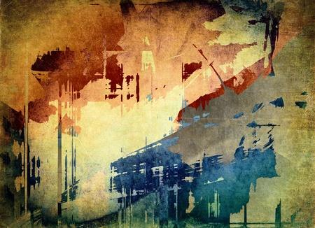 estilo urbano: Grunge fondo de arte Foto de archivo