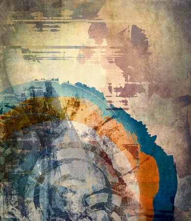 abstract background: Abstract grunge colorful background