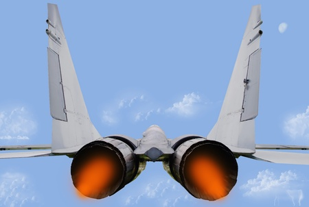 supersonic transport: Jet fighter