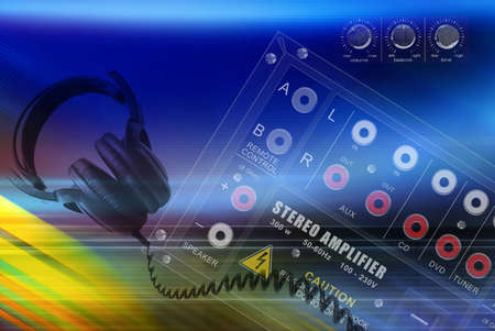 preamp: Abstract musical concept, background