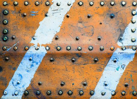 Metal texture with rivets Stock Photo - 9977646