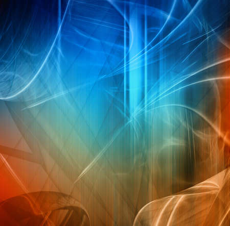 Abstract fantastic composition Stock Photo - 9977595