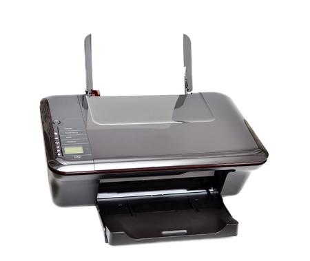 copier: Printer, scanner, kopieermachine geïsoleerd op witte achtergrond