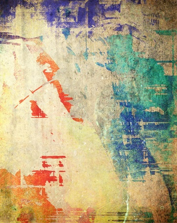 grunge backgrounds: Grunge dirty background, colorful texture