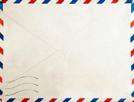 sobres para carta: Antiguo post envolvente, fondo Foto de archivo
