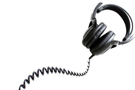 hobby: Headphones, isolated on white