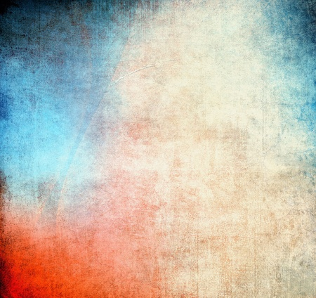 Abstract texture, blue and red color Stock Photo - 9995047
