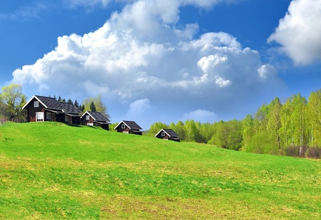 Beautiful spring landscape Stock Photo - 9995004
