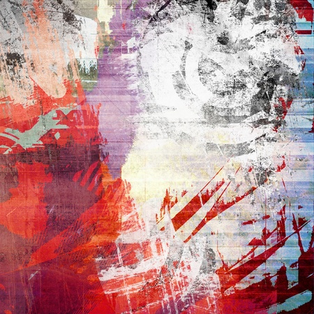 Abstract color background, grunge illustration