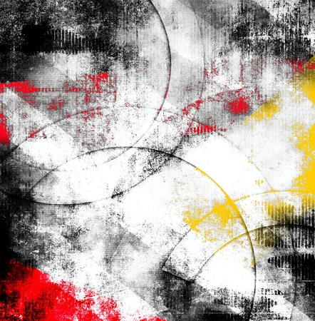 Abstract grunge composition, color background Stock Photo