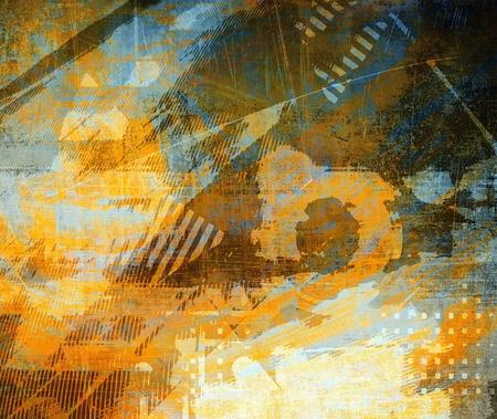 blue plaque: Abstract grunge background, art illustration