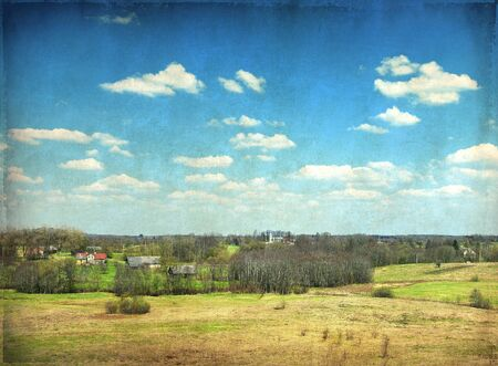 Vintage landscape Stock Photo - 11019724