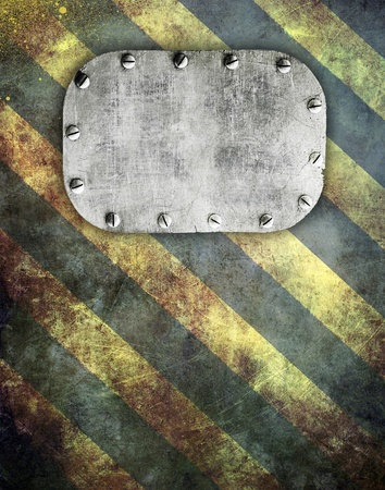 Industrial grunge background, metal plate Stock Photo - 11300210