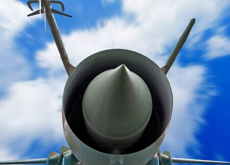 Military aircraft close up Stock Photo - 12507497