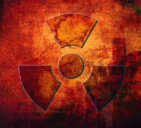 Radioactive symbol Stock Photo - 12507577