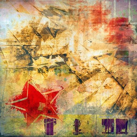 graffiti brown: Arte de fondo del grunge, textura colorida