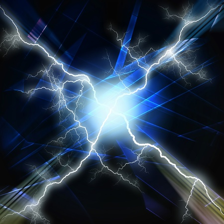 Abstract lighting, futuristic background photo