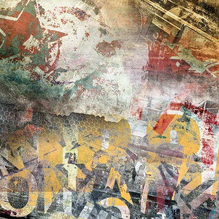 grunge background: Abstract grunge background