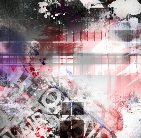 grafitis: Textura de grunge, fondo de arte