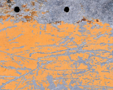 Scratched metal texture, aluminum background photo
