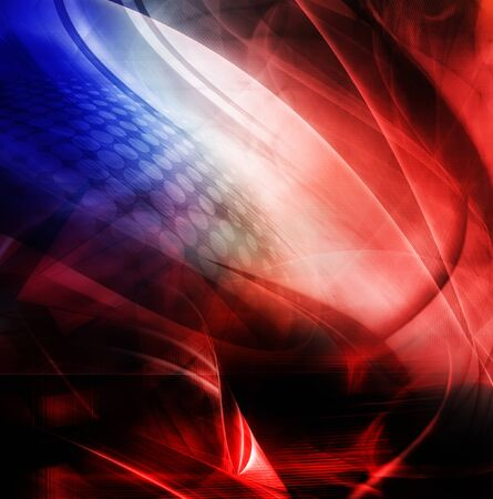 blue abstract: Abstract background, blue and red color Stock Photo