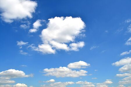 Summer sky and clouds Stock Photo - 13584953