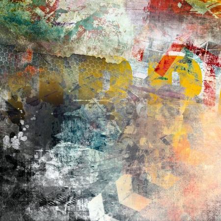 background grunge: Abstract color background, grunge illustration