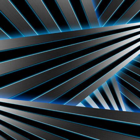 neon lights: Abstract geometric background, neon lights