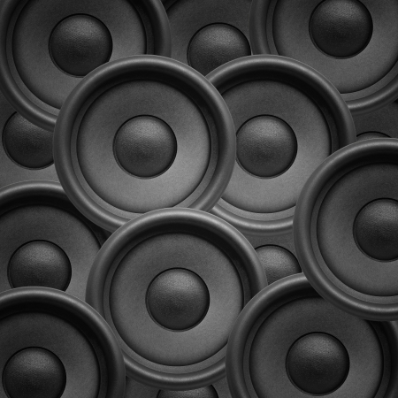 Speakers, musical background photo