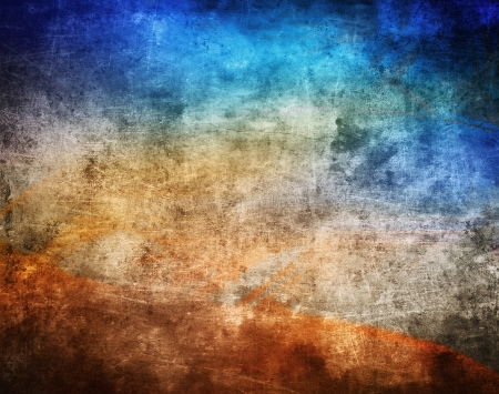industrial background: Grunge color texture, old scratched surface Stock Photo