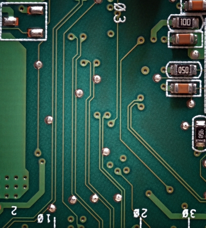 Electronic circuit board Stock Photo - 14524449