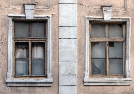 Old windows photo