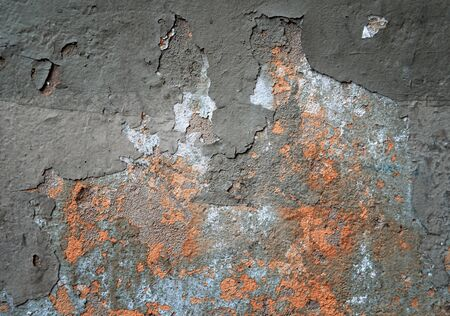 dingy: Concrete texture, dirty scratched surface Stock Photo