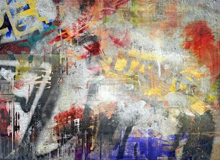 grafitis: Fondo abstracto del grunge