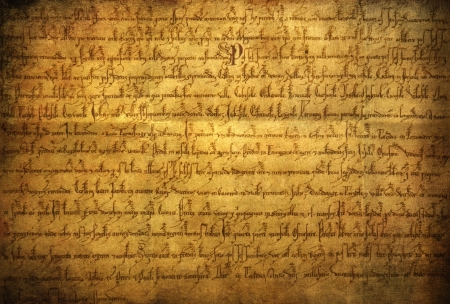 old writing: Manuscript, old writing paper texture Stock Photo