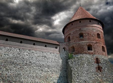castello medievale: Castello medievale e la torre