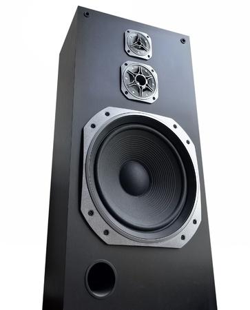 disco speaker: Speaker on white background