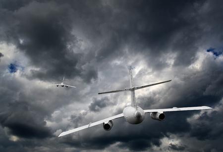 turbofan: Fighter jet in the sky Stock Photo