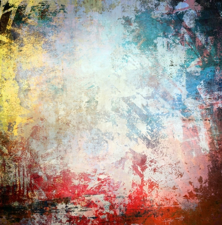 Grunge colorful background Stock Photo - 15070614