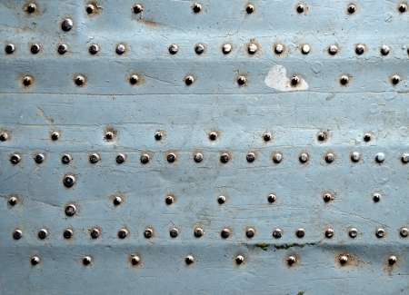 Metal texture with rivets Stock Photo - 15104551