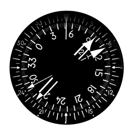 cockpit: Directional gyro heading indicator