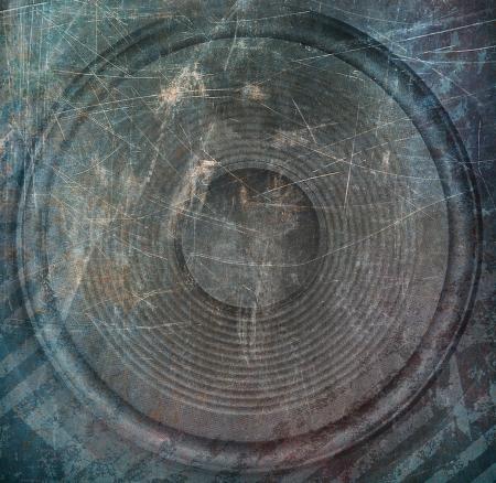 sub woofer: Speaker, music illustration