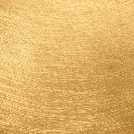 Gold polished metal texture photo