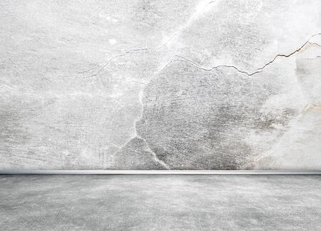 Room wall with cracks Stock Photo - 20959813