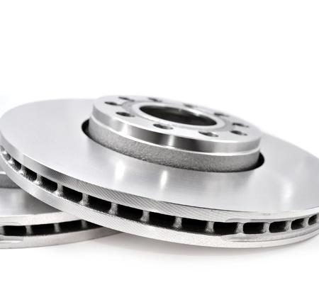 Brake disc on white background Stock Photo - 20959814