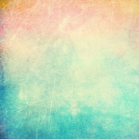 Farbigen Hintergrund Jahrgang Standard-Bild
