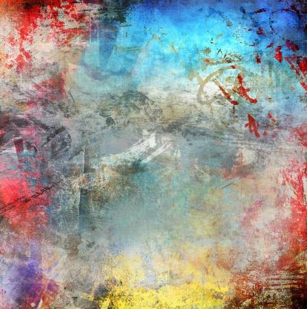 Grunge colorful background Stock Photo - 20959854