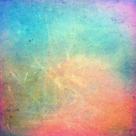 абстрактный: Красочные поцарапал старинные фоне